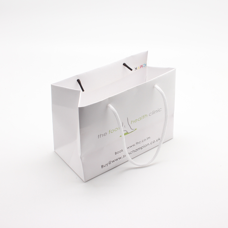 white paper bag for watch gift