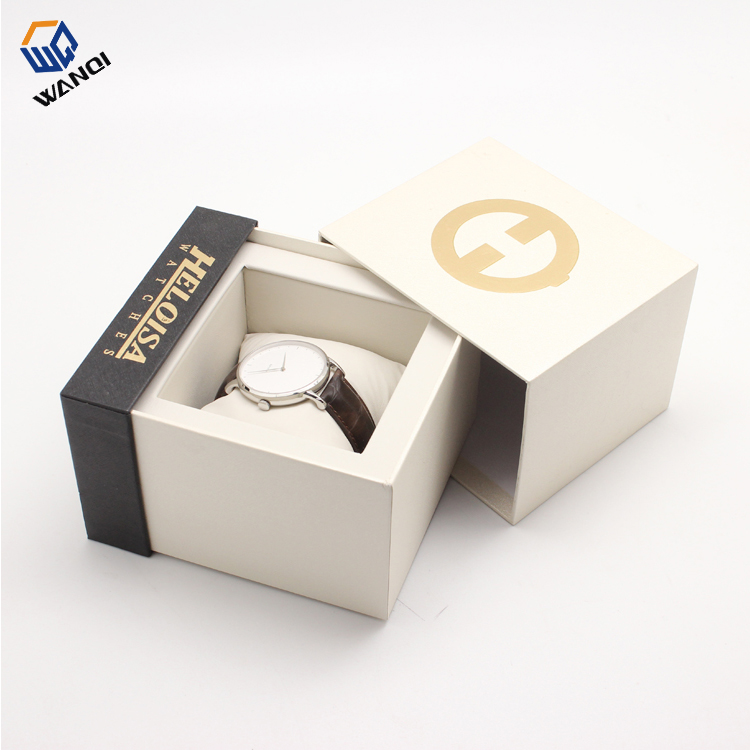 Big fashion luxury design branded OEM paper watch box