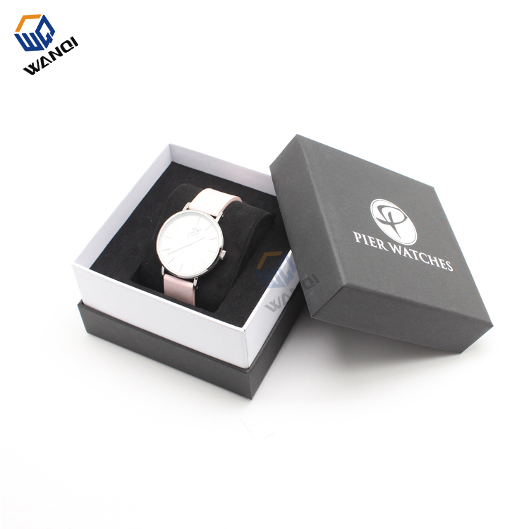 High quality paper luxury men handmade watch box