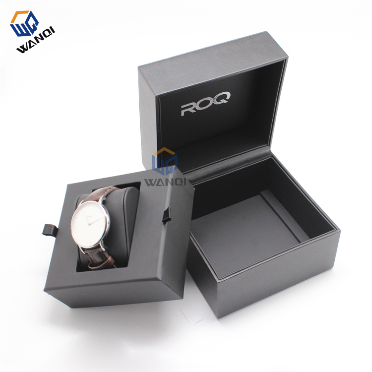Luxury fashion branded wrist pu leather watch box for women