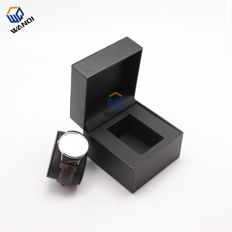 Fashionable design white PU ladies watch boxes