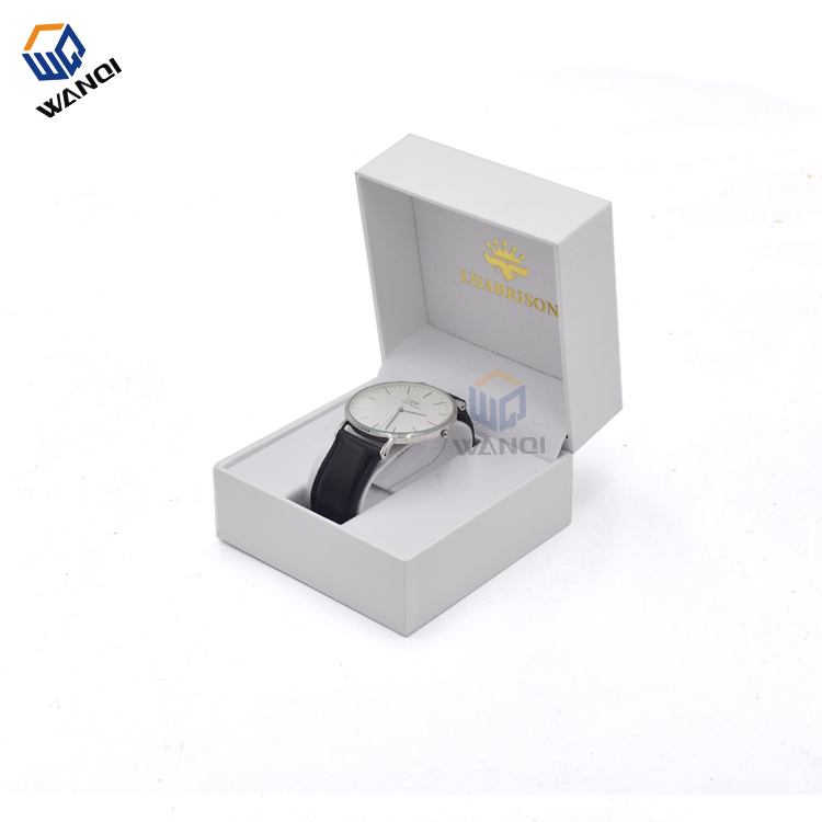 custom fashion white paper wrist watch pill box